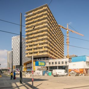 Interplastics Projekt – Quartier Belvedere Central